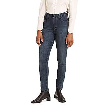 Levi s Women s 721 High Rise Skinny Jeans Blue Story 31  US 12  L