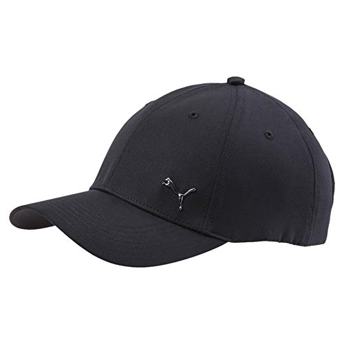 PUMA Metal Cat cap, Cappello Unisex-Adulto, Nero (Black), Taglia unica