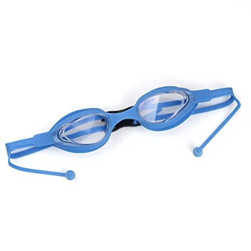 Gafas de baño profesional, gafas adultas de natación, gafas de agua nadando anti niebla protección UV Sin fugas Visión clara fácil de ajustar para adultos hombres mujeres adolescentes,Royal blue