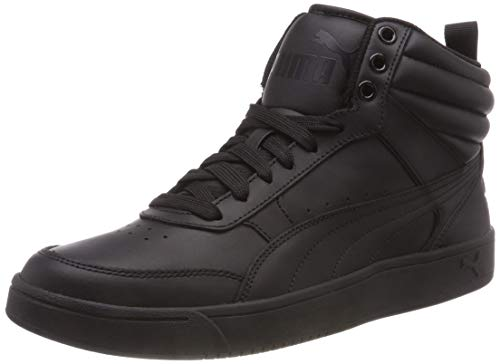 Puma Unisex-Erwachsene Rebound Street V2 L Hohe Sneaker, Schwarz (Puma Black-Puma Black 1), 36 EU