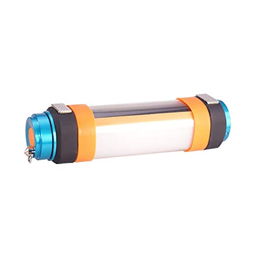 Zhou-YuXiang Multifuncional USB Impermeable al Aire Libre Viaje antorcha Camping Linterna portátil Senderismo luz de Emergencia para desplazar Mosquitos