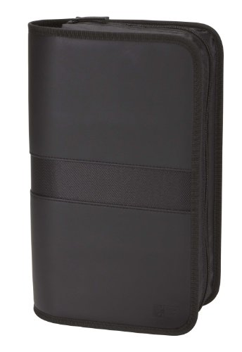 Case Logic EKW-112 112 Capacity Koskin CD Case (Black)