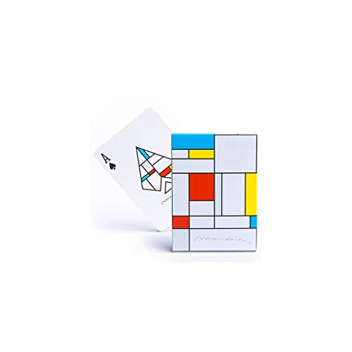 Carte Mondrian Playing Cards