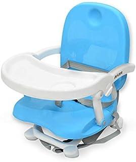 AIRCAREベビーチェア 折りたたみ式 赤ちゃん 安全 出産祝いローチェア 軽量 持ち運び快適 ブルー