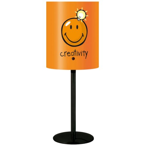 Incidence Paris 10340 LAMPE - Happy colors - Creativity - Orange, Métal/Polypropylène E14