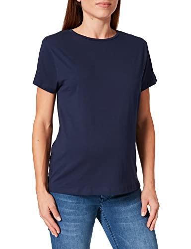 bestseller a/s Damen MLSOPHIA S/S Jersey TOP V. T-Shirt, Peacoat, L