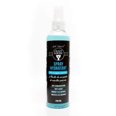 Crazy Locks- spray Hydratant à l'huile de carapate et menthe poivrée
