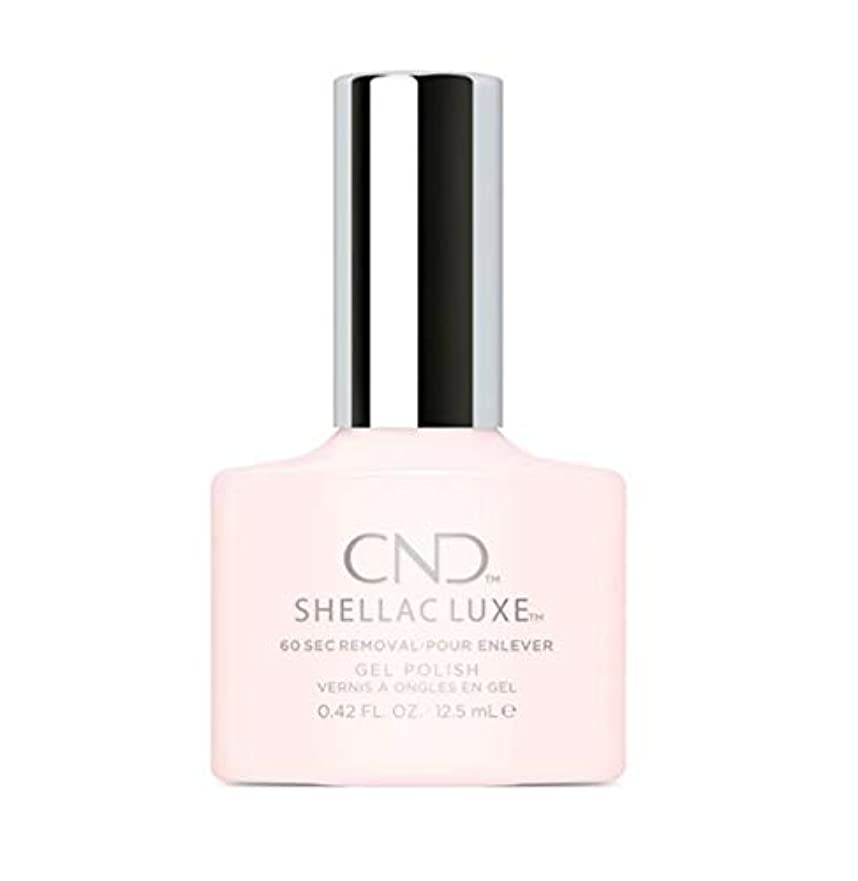 オーロック別れる免疫するCND Shellac Luxe - Satin Slippers - 12.5 ml / 0.42 oz