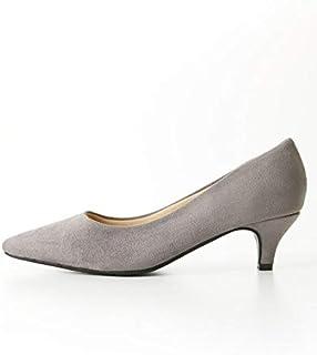 [ニッセン] 靴(シューズ) ポインテッドトゥ5cmヒールパンプス(低反発中敷) 商品