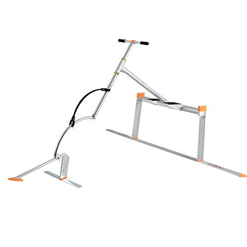 HXXXIN Bicicleta De Agua Aviación Aluminio Agua Que Vuela Juego De Surf Agua Bebé Saltando Fitness Pájaro Acuático Bicicleta De Agua Hidroala Autopropulsada,Plata