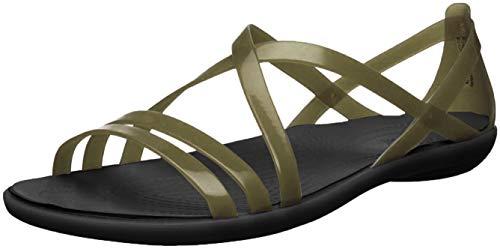 Crocs Isabella Strappy Sandal W, Sandalias con Punta Abierta para Mujer