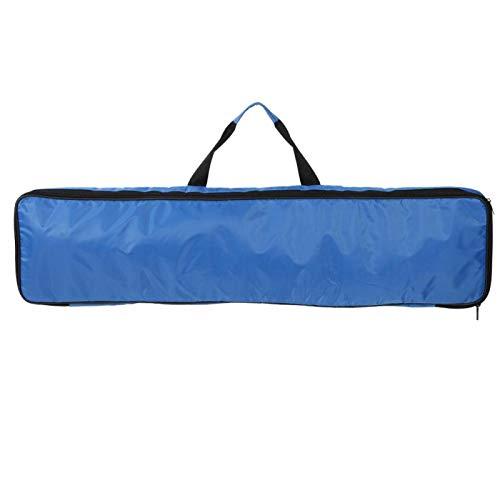 DAUERHAFT Capa Intermedia con Bolsa de Transporte de Paleta de algodón Perlado, para los Amantes del Kayak Bonita Herramienta de Accesorios(Blue)