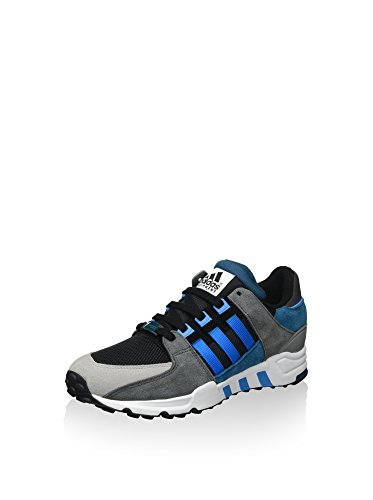 adidas Herren Equipment Running S Sneaker, schwarz/grau/blau, 39 1/3 EU