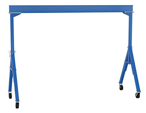 Vestil FHS-6-15 Fixed Steel Gantry Crane, 6000 lb, 131.3125