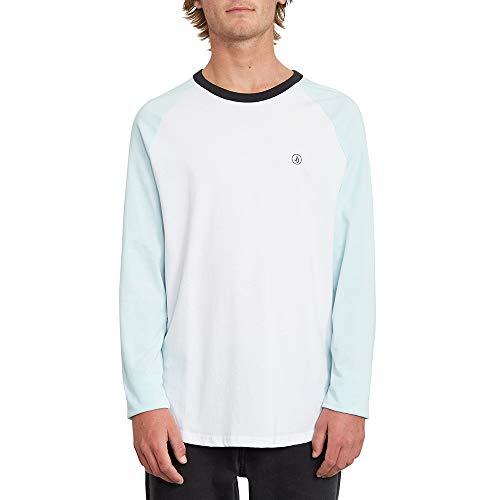 VOLCOM Pen BSC LS Sweat-Shirt Homme Résine Bleu XL