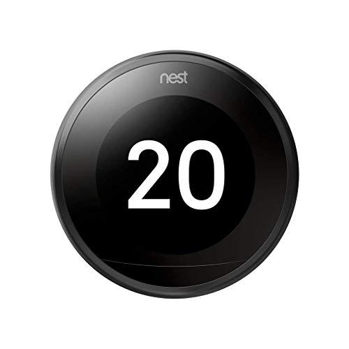 Google Nest Learning Termostato Inteligente de 3 A Generación, Cobre