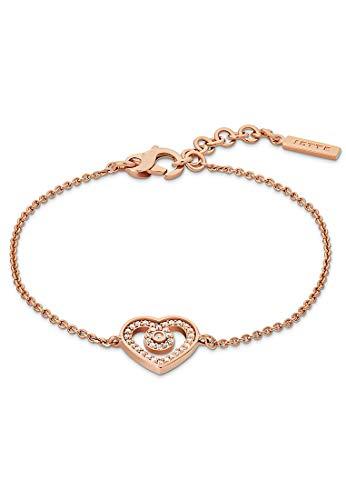 JETTE Silver Damen-Armband Silber 36 Zirkonia One Size Roségold 32012085