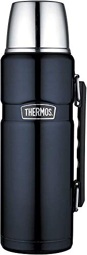 THERMOS 4003.256.120 Isolierflasche Stainless King, Edelstahl Midnight Blue...