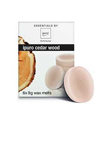 ipuro Essentals wax melt cedar wood, 9 ml