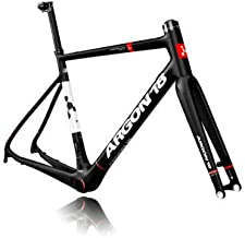 ARGON18 Road Bike Frame X-Road Krypton Disc Brake Matt-Black White, Size S
