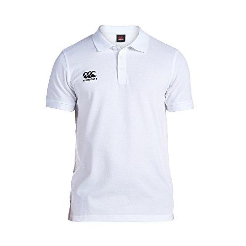 Canterbury Men's Waimak Polo Shirt - White, XL