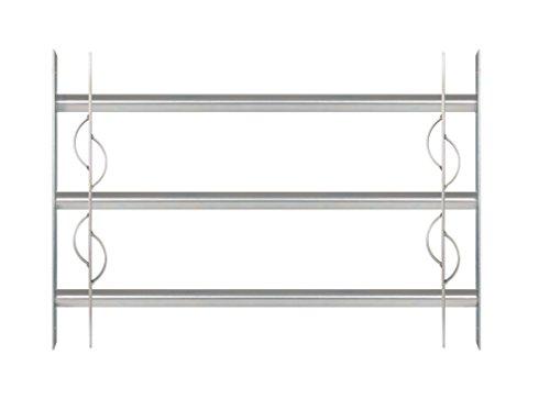 GAH-ALBERTS finestra griglia secorino Style–estensibile, galvanizzata blu, 563622