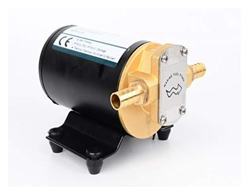 LXH-SH Das elektromagnetische Ventil Großer Fluss DC Getriebeölpumpe 12V 24V 14L / min selbstansaugende Pumpe Dieselpumpe for Schmieröl Motoröl Industriebedarf (Voltage : 24V)