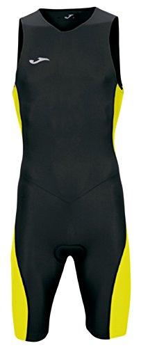 Joma - Mono triathlon negro-amarillo s/m hombre, negro/amarillo