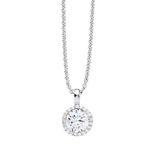 NANA KAY Modern Classics ST1163 - Collar con colgante con circonitas
