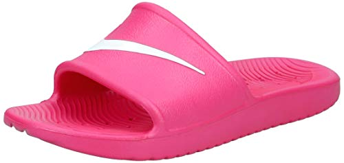Nike Kawa Shower (GS/PS), Chaussures de Plage & Piscine Garçon, Multicolore (Rush Pink/White 601), 29.5 EU