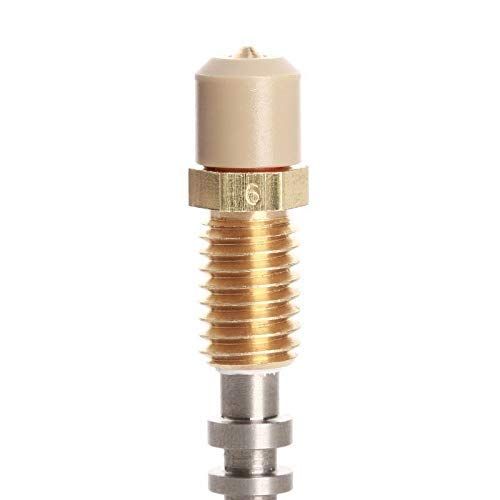 1 Stück Geeignet für Cetus 3D-Druckerdüse 0,2 mm / 0,4 mm / 0,6 mm 3D-Druckzubehör (Tamaño: 0,2 mm) (Color : 0 4 mm)