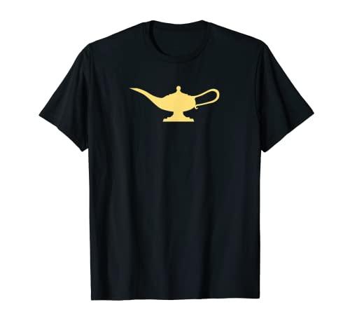 Silueta de lámpara mágica Camiseta