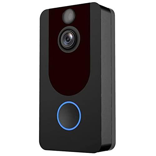 ZCZZ Ring Video Doorbell, Video De Alta Definición, Detección De Movimiento Y Fácil De Instalar | Timbre Inalámbrico Visual Inteligente, Apertura para El Hogar, Antirrobo