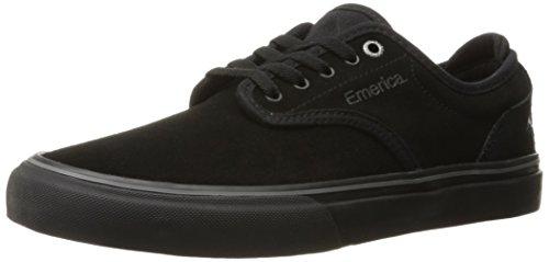 Emerica Men's Wino G6 Skateboarding Shoe, Black/Black, 6.5 M US
