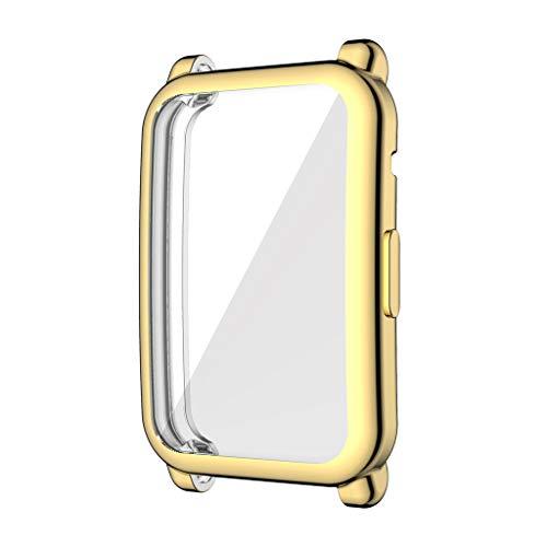 Supefriendly Correa de silicona deportiva para Huawei Honor Watch ES Prot Watch Shell TPU Case Cover