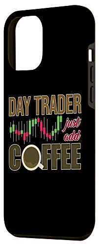 31IycBep3ML - iPhone 12 Pro Max Day Trader Just Add Coffee - Stock Market Trading Investor Case