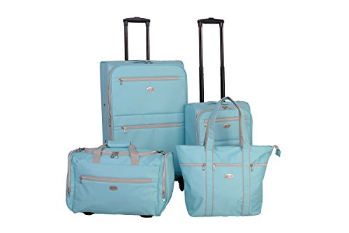 American Flyer Perfect 4-piece Luggage Set Mint