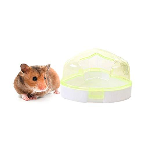 Carry stone Pentagramm Haustier Hamster Maus Badezimmer Bad Kleines Haustier Badezubehör Reinigungszubehör Hamster Badewanne Langlebig und praktisch