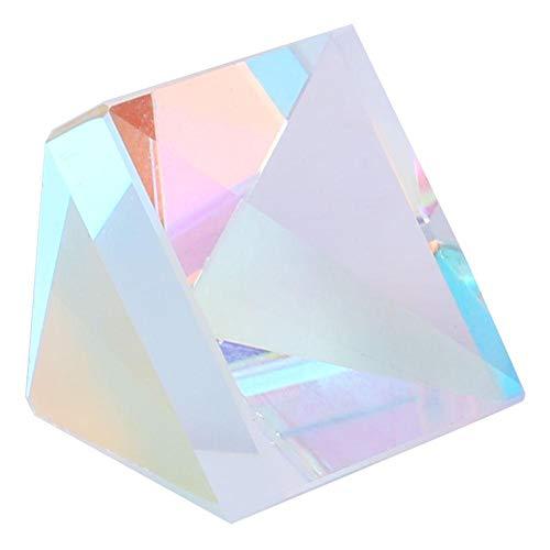 Fotografieren Kamera Optische Glasphysik Farbiges Lichtspektrum für Forschungsdekoration Fotograf Kinder Iris Maker unterrichtet Lichtspektrum(Size 3)