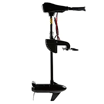 Cloud Mountain 36/40/46/50/55/60/86 LBS Thrust Electric Trolling Motor for Fishing Boats Freshwater and Saltwater Use