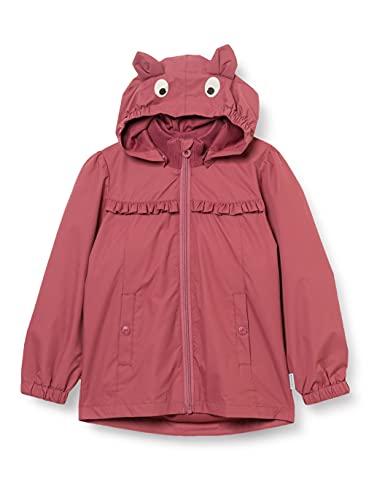 MINYMO Girls Jacke solid Jacket, Roan Rouge, 98D