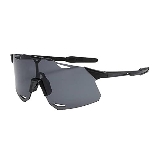POXIAO Gafas de Sol Deportivas polarizadas Gafas de Ciclismo con protección UV, Gafas de Sol para Exteriores Gafas Deportivas polarizadas Coloridas para Todo Terreno