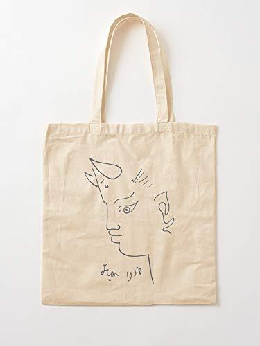Generic Style Drawings Line Rare Outs Artistical Käfer J Jean Cut   Einkaufstaschen aus Segeltuch mit Griffen, Einkaufstaschen aus robuster Baumwolle