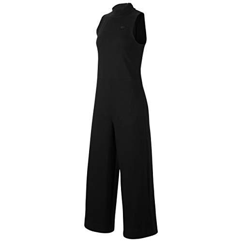 Desconocido Unbekannt W NSW Jumpsuit Jrsy Jump Suit, Damen S Schwarz/Schwarz