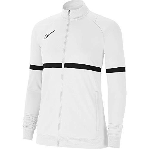 NIKE W NK Dry ACD21 TRK JKT K Jacket, White/Black/Black/Black, XL Women's