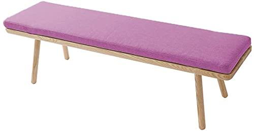 E11 Relaxer - Alfombrilla gruesa para tumbona con cremallera, suave y acogedora, para columpio/tumbona/zapatero, cojín de asiento antideslizante al aire libre para balcón, pasillo, patio