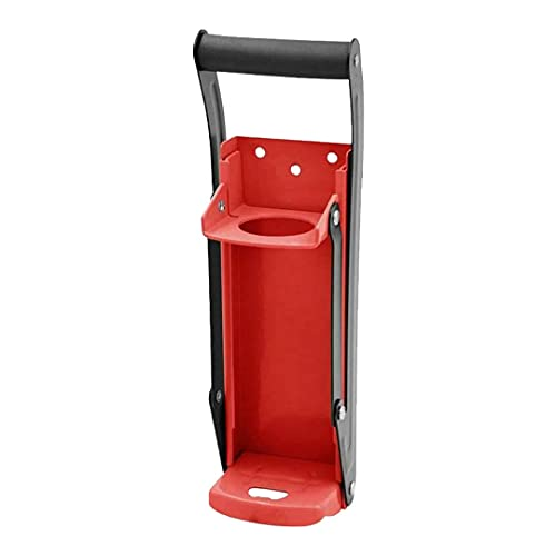 Red Can Crusher Wall Mounted Aluminum Can Crusher 16oz 12oz 8oz Heavy Duty Can Crushers For Recycling Wall Mounted Beer Can Opener And Crush Bottle Two Features In One Can Press