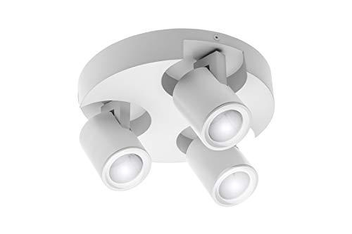 CGC Witte pens Drie koppen GU10 Verstelbare plafondlamp Opbouwmontage LED GU10 Compatibel AC220-240V 50/60 Hz GU10 maximaal 20W IP20