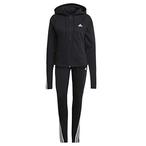 adidas Damen Cotton Energize Trainingsanzug, Black, S