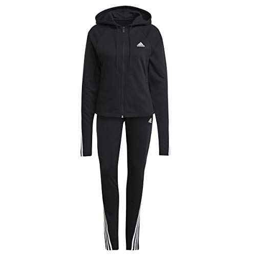 adidas Damen W TS CO Energiz Trainingsanzug, Black, L
